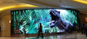 Indoor and Outdoor Curved LED Screen