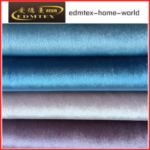 100% Polyester Velvet Fabric for Sofa/Curtain EDM-F16g10