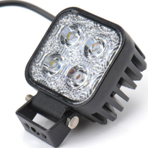 Motorcycle Front Aluminum 4 LED Flood Beam Night Work 12W Light Bar pictures & photos