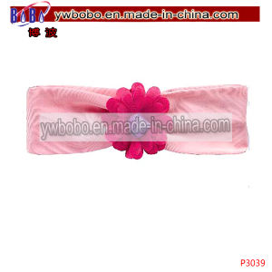 Fashion Garment Accessories Pink Tulle Flower Hair Product (P3039) pictures & photos