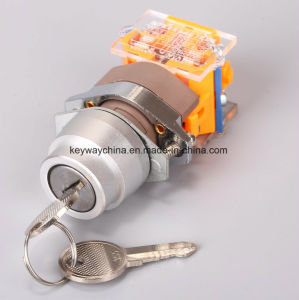 Keyway Brand Keylock/Key Push Button Switch pictures & photos