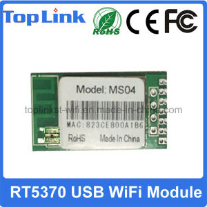 Top-Ms04 Rt5370 Hot Selling 150Mbps Bgn USB Wireless WiFi Module for Satellite Receiver