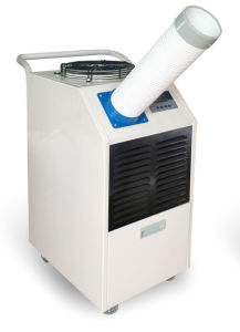 Portable Spot Air Conditioner with Two Duct for Industrial Factory/Workshop/Warehouse Use pictures & photos