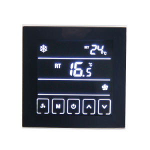Touchable Programmble Room Temperature Controller for Air Condition T901 pictures & photos