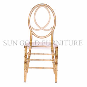 Hotel Furniture Stackable Resin Tiffany Chiavari Chair for Weddings (SZ-DCT005) pictures & photos