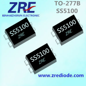 5A Ss540 Thru Ss5100 Surface Mount Schottky Barrier Rectifier Diode to-277b Package pictures & photos
