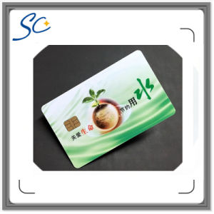 Contact Smart Card for Commercial Electronic Consumption and Banking