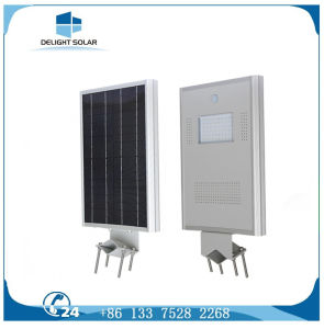 20W Mono Crystalline Solar Panel Mention Sensor All in One Solar LED Street Light pictures & photos