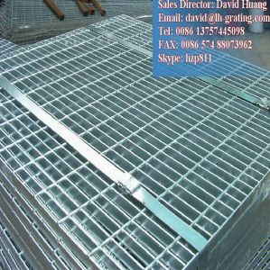 Galvanized Metallic Grid for Platform or Drain Cover pictures & photos