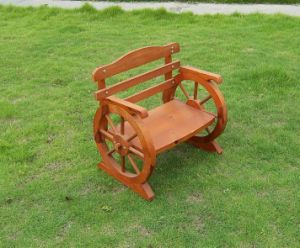 High Quality Cedar Wood Park Bench Garden Chair Outdoor Chair pictures & photos
