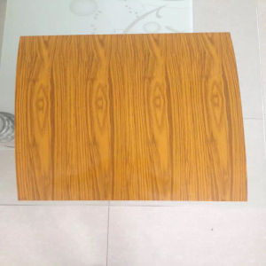 Wooden Color Finished Galvanized Steel pictures & photos
