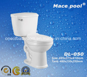Good Quality Ceramic Two Piece Toilets (DL-050) pictures & photos