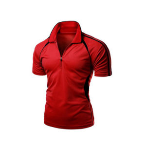Elastance Dye Sublimation Dry Fit Polo T-Shirts pictures & photos