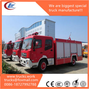190HP Engine Dongfeng Left Hand Drive Water Tanker Fire Truck pictures & photos