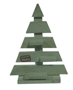 Wooden Home Decor Christmas Tree Shape Rack