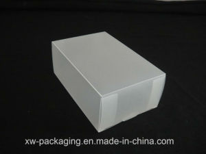 Customized Frosted Plastic Box for Cosmetic Blister Packaging