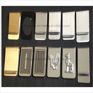 Promotional Cheap Free Sample Money Clip Metal Clip