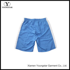 Men′s Swim Trunks Blue White Water Beach Board Shorts pictures & photos