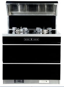 Freestanding Whole Kitchen Appliance Range Hood And Cooker With  Disinfector/Integrated Stove Kitchen Ventilator