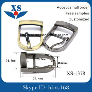 25.5mm Pin Buckle/Belt Buckles Men