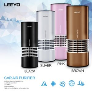 Car Air Purifier with HEPA Filter