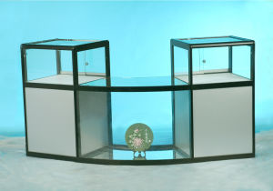 Tempered Glass Display Cabinet pictures & photos