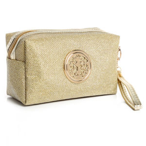 Factory Produce Jute Linen Cosmetic Make up Bag