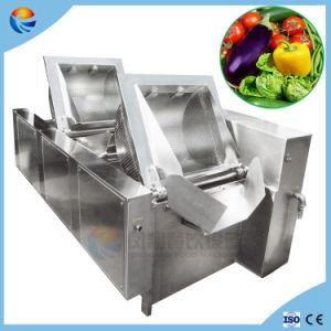 Double Tank Automatical Lettuce/Cabbage/Spinach/Fruit/Vegetable Washing Machine