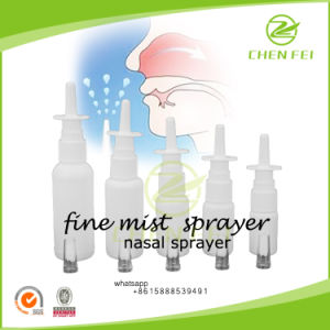 CF-N-1 Clean Pure White Accept Custom Nasal Sprayer