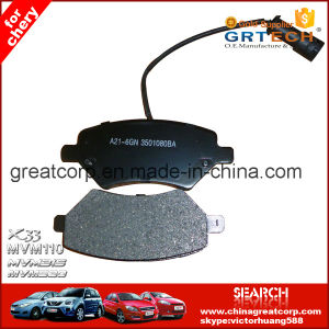 A21-6gn 3501080 Auto Brake Pad Cross Reference for Chery