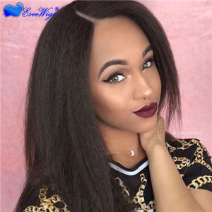 China Lace Front Wigs 7A Full Lace Human Hair Wigs Coarse Yaki Lace Front Human  Hair Wigs Kinky Straight Peruvian Full Lace Wigs - China Wigs for Black ... 3900c1c961