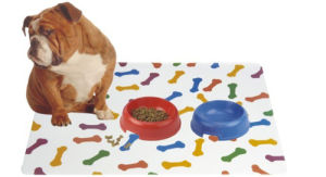 Dog Tableware Cushion, Dog Bowl Mat pictures & photos