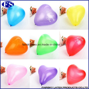 "12 ""Decorative Balloon 2.2g Printed Heart-Shaped Balloons pictures & photos"