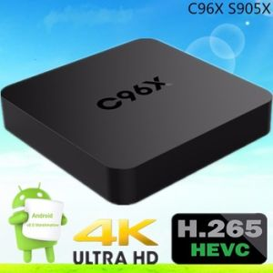 2016 Full HD 1080P Video Android Box C96X S905X 1g 8g Android Kodi 16.0 TV Box pictures & photos