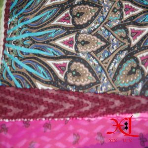 Digital Print Silk Chiffon Fabric for Dress/Hijab pictures & photos