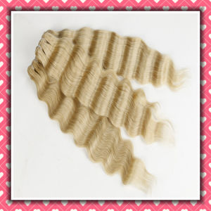 Factory Sale Wavy Human Hair Weave Loose Deep 22inch pictures & photos
