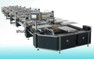 Oval Automatic Textile Screen Printer, Automatic T-Shirt Screen Printing Machine pictures & photos