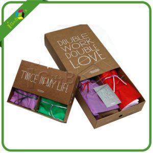 Kraft Clothes Storage Box / Socks Packaging Box