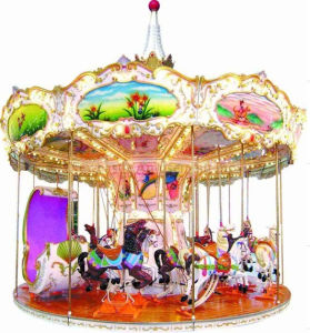 Merry Go Round 16 24 36 Seats Carousel. Luxury Carousel. pictures & photos