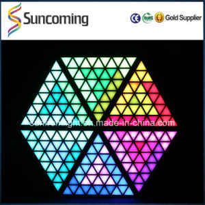 DJ Light Bar Club Decoration RGB LED Triangle Pixel Digital Backdrop pictures & photos