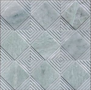 China Manufacturing Grey Stone Mosaic