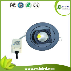 Dimmalbe 90lm/W 15W Rotatable LED Downlight with CE RoHS