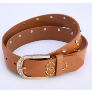 Fashion Belt/ PU Belt/ Lady′s Belt/ Women Belt-Pl01