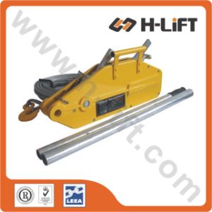 0.8t-5.4t Aluminium Body Wire Rope Pulling Hoist / Cable Winch