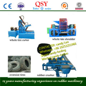 Rubber Crusher Mill Machine & Tire Cracker Mixer machine pictures & photos
