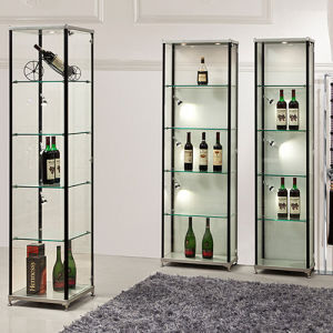 Fashion Gl Wine Display Cabinet