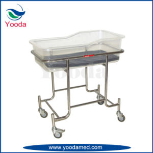 Height Adjustable ABS Hospital Baby Cot pictures & photos