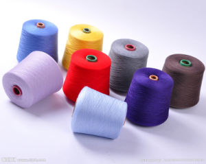 100% Cotton Carded Yarn Ne32/1 for Weaving and Knitting