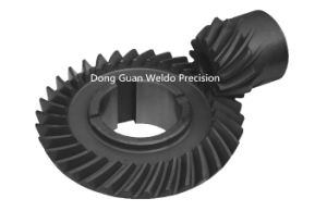 Black Oxidation Spiral Bevel Gear pictures & photos