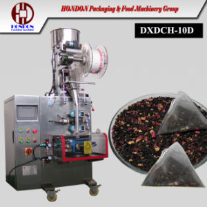 Ce Certificate Double Nylon Tea Bag Packaging Machine (DXDCH-10D+0uterenvelop) pictures & photos